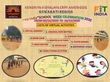 Fit India school week banner